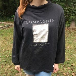 🌿Vintage 90's French Oversized Sweater